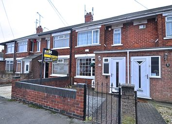 Thumbnail 2 bed terraced house for sale in Wharfedale Avenue, Hull, Yorkshire