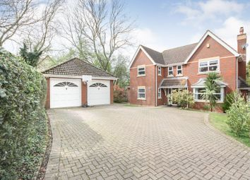 Thumbnail 4 bed detached house for sale in Springlines, Wanborough