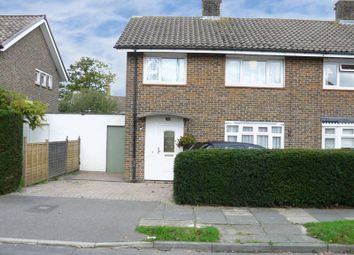Thumbnail 3 bed semi-detached house for sale in Whittington Road, Crawley