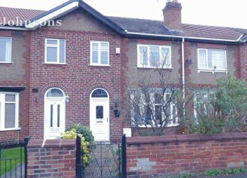 Thumbnail 3 bed terraced house for sale in Strathmore Road, Town Moor, Doncaster.