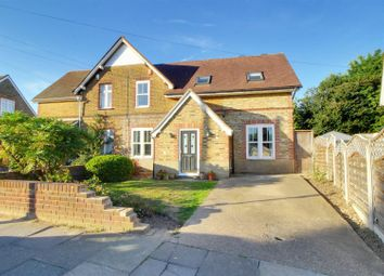 Thumbnail 4 bed semi-detached house for sale in East Crescent, Enfield