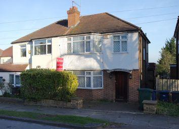 Thumbnail 3 bed semi-detached house for sale in Elton Avenue, Barnet