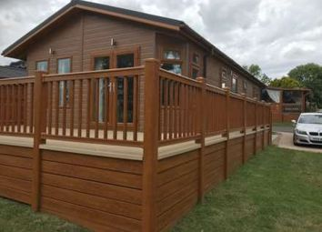 Thumbnail 2 bed lodge for sale in Haveringland, Norwich