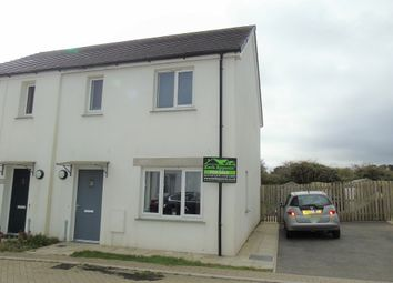 Thumbnail 1 bed semi-detached house for sale in Teyla Tor Road, Carbis Bay, St Ives, Cornwall