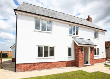 Thumbnail 4 bed detached house for sale in Bury Road, Kentford