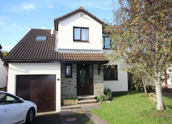 Thumbnail 4 bed detached house for sale in Hunterswell Road, Newton Abbot