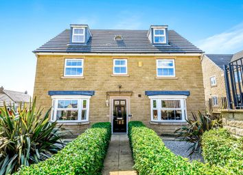 Thumbnail 5 bed detached house for sale in Cask Court, Ovenden Wood, Halifax