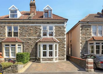 Thumbnail 4 bed semi-detached house for sale in Mervyn Road, Bishopston, Bristol