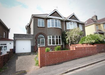 Thumbnail 3 bed semi-detached house for sale in Carlton Road, Newport