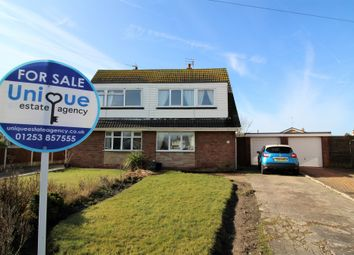 Thumbnail 3 bed semi-detached house for sale in Newby Avenue, Fleetwood