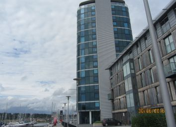 Thumbnail 2 bed flat to rent in Marina Point East, Chatham Quays, Dock Head Road, Chatham, Kent