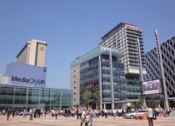 Thumbnail 2 bed flat for sale in Media City UK, Salford Quays, Salford