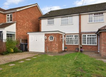 Thumbnail 3 bedroom semi-detached house for sale in Huggins Lane, North Mymms, Hatfield