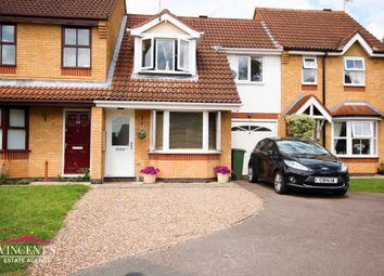 Thumbnail 3 bed town house for sale in Acacia Close, Leicester Forest East