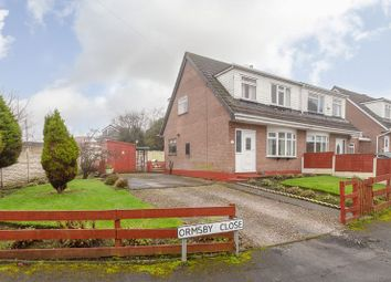 Thumbnail 3 bed semi-detached house for sale in Ormsby Close, Standish, Wigan