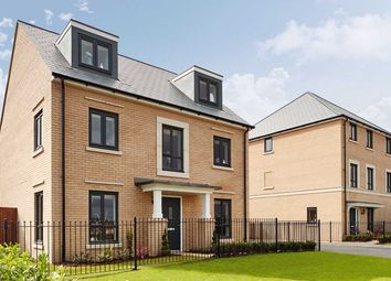 "Thumbnail 5 bed detached house for sale in ""The Fordham"" at Leverett Way, Saffron Walden"