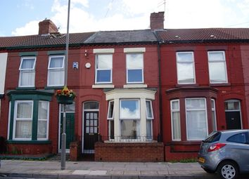 Thumbnail 3 bedroom terraced house to rent in Bagot Street, Wavertree, Liverpool