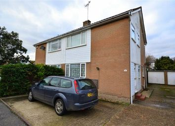 Thumbnail 3 bed semi-detached house for sale in Pembury Close, Broadwater, Worthing, West Sussex