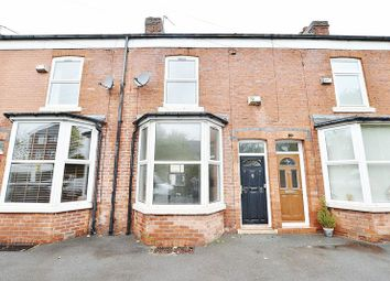 Thumbnail 2 bed terraced house for sale in Hazel Grove, Salford