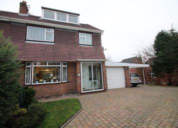 Thumbnail 3 bed semi-detached house for sale in Highgate Avenue, Urmston, Manchester