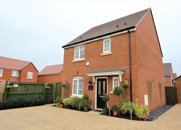 Thumbnail 3 bed detached house for sale in Armistice Croft, Blunham, Bedford