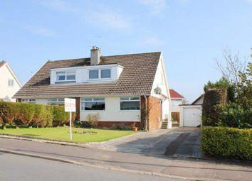 Thumbnail 4 bed semi-detached house for sale in Heathfield Drive, Blackwood, Lanark