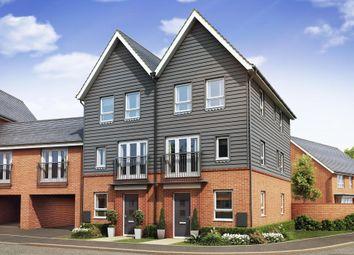 "Thumbnail 4 bed end terrace house for sale in ""Faversham"" at Cranmore Circle, Broughton, Milton Keynes"