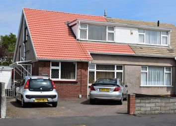 Thumbnail 3 bed semi-detached bungalow for sale in Maes Y Gwernen Drive, Cwmrhydyceirw, Swansea