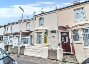 Thumbnail 3 bed terraced house for sale in Albany Road, Gillingham, Kent