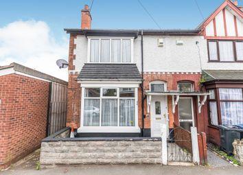3 bed end terrace house for sale in Thornbury Road, Handsworth, Birmingham B20