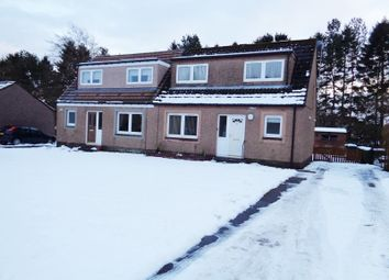 Thumbnail 2 bed semi-detached house to rent in Curlers' Crescent, Milnathort, Kinross