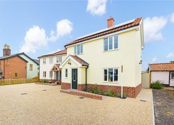 Thumbnail 3 bed detached house for sale in Common Road, Hopton, Diss