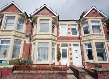 Thumbnail 3 bed terraced house for sale in Dock View Road, Barry