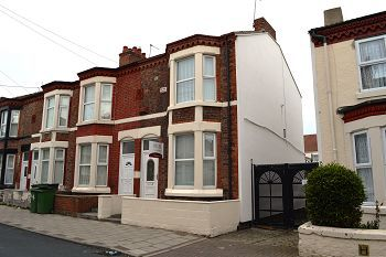 Thumbnail 3 bed end terrace house to rent in Lea Road, Wallasey