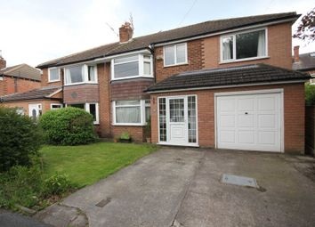 Thumbnail 4 bed semi-detached house for sale in Rushside Road, Cheadle Hulme, Cheadle