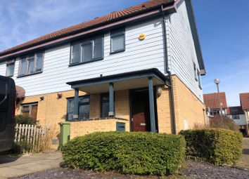 Thumbnail 2 bedroom semi-detached house for sale in Hollister Chase, Milton Keynes