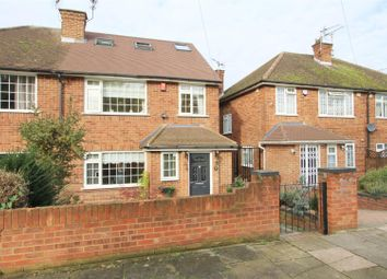 Thumbnail 4 bed semi-detached house for sale in West Ridge Gardens, Greenford