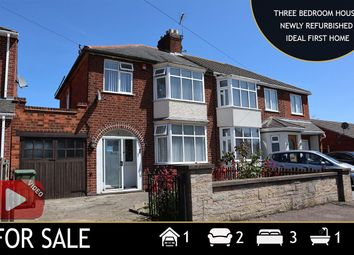 Thumbnail 3 bed semi-detached house for sale in Una Avenue, Leicester