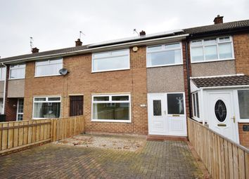 Thumbnail 3 bed terraced house for sale in Rudland Walk, Whale Hill, Middlesbrough