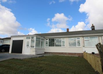Thumbnail 2 bed semi-detached bungalow for sale in Remus Avenue, Heddon-On-The-Wall, Newcastle Upon Tyne, Northumberland