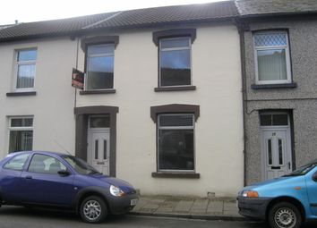 Thumbnail 3 bed terraced house to rent in Abertonllwyd Street, Treherbert, Treorchy