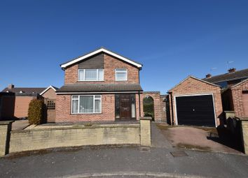 Thumbnail 3 bed detached house for sale in Anchor Close, Hathern, Loughborough