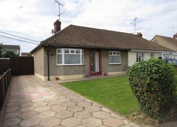 Thumbnail 2 bed semi-detached bungalow for sale in Brocksford Avenue, Rayleigh