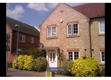 Thumbnail 3 bed end terrace house to rent in Honeymead Road, Wimblington, March