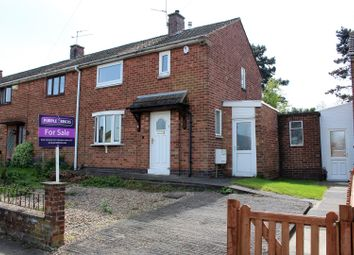Thumbnail 2 bedroom end terrace house for sale in Spendlow Gardens, Leicester