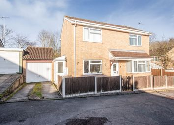 Thumbnail 3 bed detached house for sale in Blackthorn Drive, Leicester
