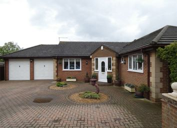 Thumbnail 3 bedroom detached bungalow for sale in Irving Burgess Close, Whittlesey, Peterborough