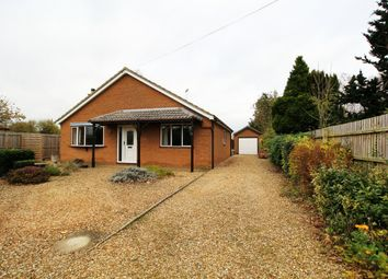 Thumbnail 3 bed detached bungalow for sale in Pipwell Gate, Moulton Seas End, Spalding