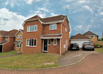 Thumbnail 4 bed detached house for sale in Holkham Close, Rushmere St Andrew, Ipswich