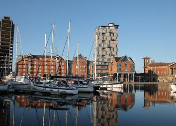 Thumbnail 2 bed flat for sale in The Cambria, Regatta Quay, Ipswich
